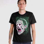 Camiseta Masculina Esquadrão Suicida The Joker Prince of Crime