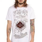 Camiseta Masculina Harry Potter The Marauder´s Map