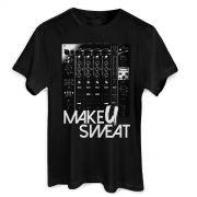Camiseta Masculina Make U Sweat Mixer