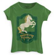 Camiseta Feminina O Senhor dos Anéis The Prancing Pony