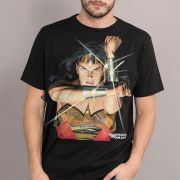 Camiseta Masculina Wonder Woman Action