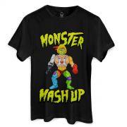 Camiseta Monstra Maçã Monster Mash Up
