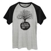 Camiseta Raglan Masculina Biquini Cavadão As Voltas Que o Mundo Dá