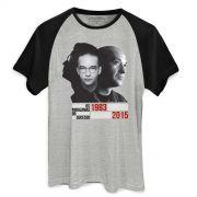 Camiseta Raglan Masculina Os Paralamas do Sucesso Herbert Vianna 1983-2015