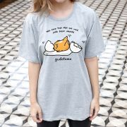 Camiseta Unissex Gudetama Não Faça Hoje