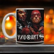 Caneca Liga da Justiça You Can´t Save The World Alone