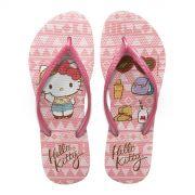 Chinelo Feminino Hello Kitty Look