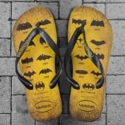 Chinelo Havaianas Batman 75 Anos Logos Collection