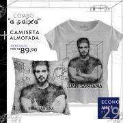 Combo Luan Santana A CAIXA Camiseta Feminina + Almofada