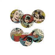 Porta Copos DC Comics HQ Vintage