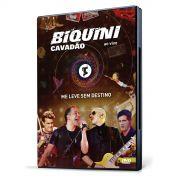 DVD Biquini Cavadão Me Leve Sem Destino
