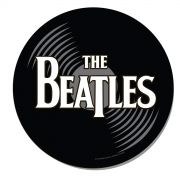 Mousepad Redondo The Beatles Vinyl