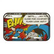 Placa de parede Batman And Superman BAM!