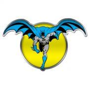 Placa Decorativa de Metal Batman e a Lua
