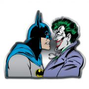 Placa Decorativa de Metal Batman e The Joker