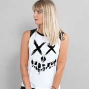 Regata Feminina Esquadrão Suicida Skull Logo