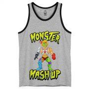 Regatão Masculino Monstra Maçã Monster Mash Up