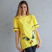 T-Shirt Feminina Piu-Piu Face