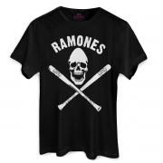 T-Shirt Feminina Ramones Gabba Gabba Hey