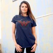T-shirt Feminina Wonder Woman Logo Authentic