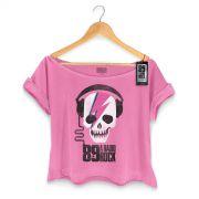 T-shirt Premium Feminina 89FM Thunder Skull