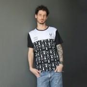 T-shirt Unissex Bicolor Pernalonga Japan