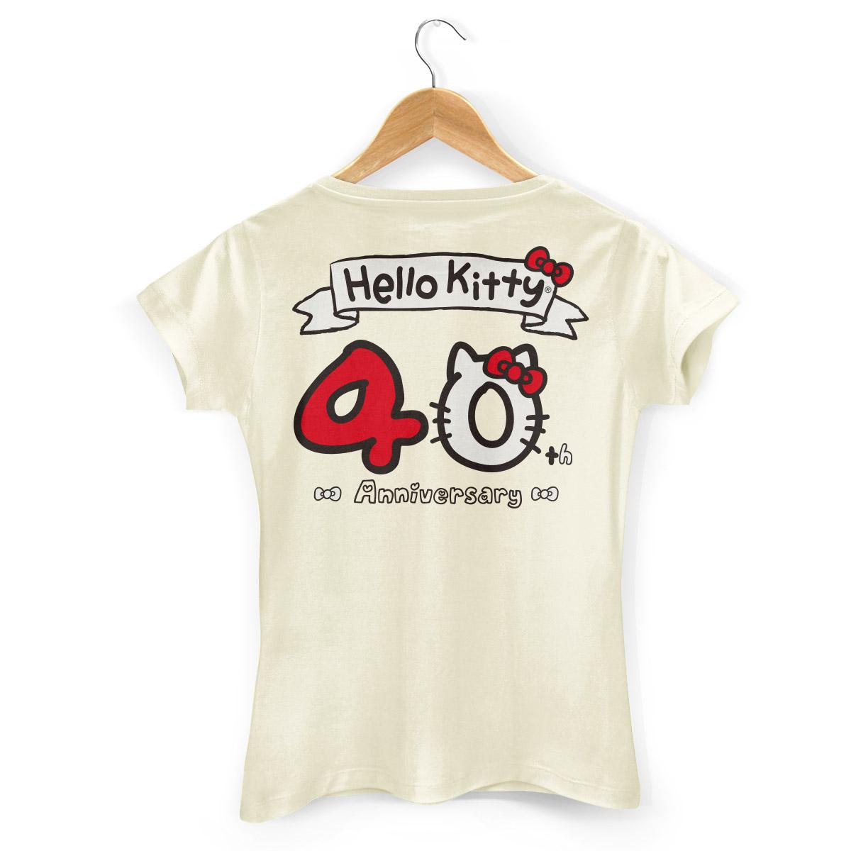 Camiseta Hello Kitty 40th Anniversary