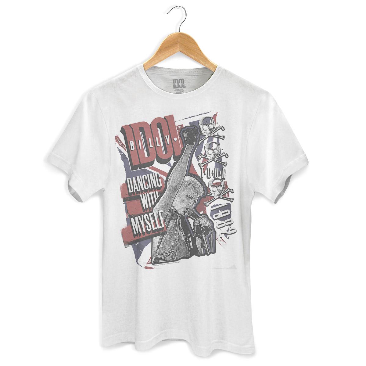 Camiseta Masculina Billy Idol Dancing With Myself