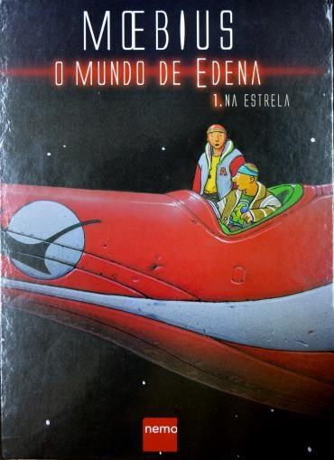 Graphic Novel Moebius - O Mundo de Edem Vol.1 Na Estrela