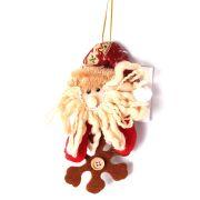 Enfeite Papai Noel ou Boneco de Neve - Sortidos