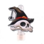 Lembrancinha Tubete Halloween Caveira Bruxa
