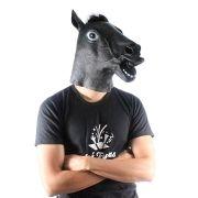 Máscara Cabeça de Cavalo Preta