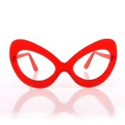 Óculos Gatão Cristal sem Lente
