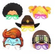 Óculos Máscara Aviador, Xerife, Black Power e outros