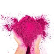 Pó Colorido para Festas Holi - Rosa