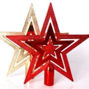 Ponteira Estrela para Árvore de Natal - 20cm