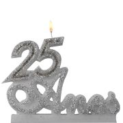 Vela 25 Anos Prata
