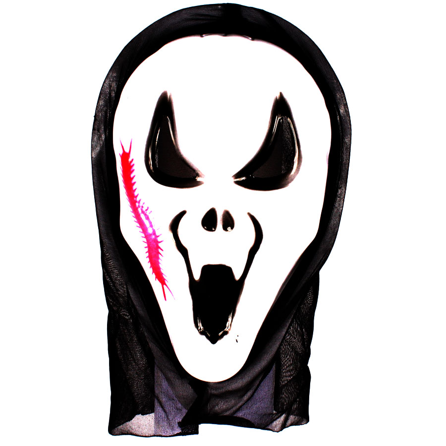 Máscara Pânico Vampiro para Fantasia - Unidade