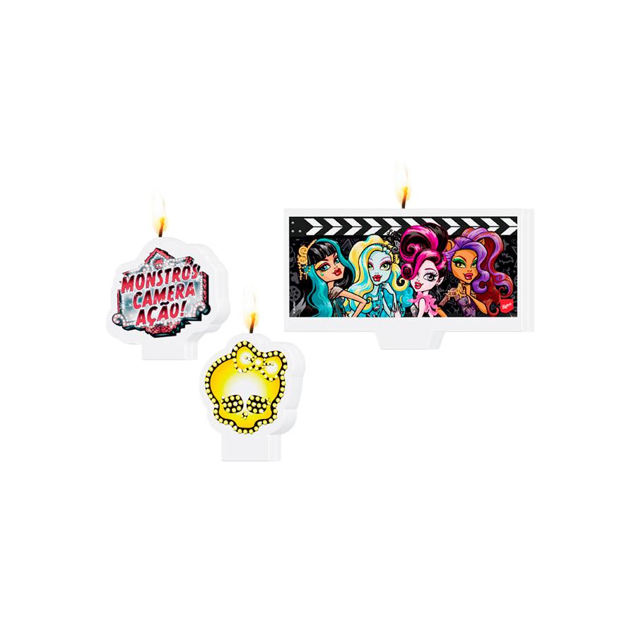Vela Monster High 3Un