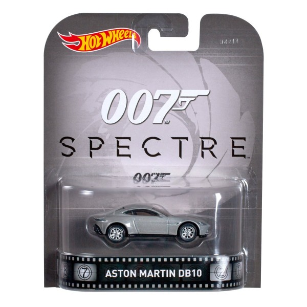 007 Spectre Aston Martin DB10 - Hot Wheels