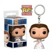 Pocket Pop Chaveiro (Keychains) Bela Celebração (Belle Celebration): Disney: A Bela e a Fera - Funko