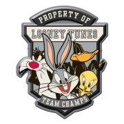 Placa de Alumínio : Looney Tunes Team Champs - Urban