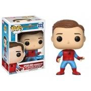 Pop Homem-Aranha Sem Máscara com Uniforme Caseiro (Spider-Man: Homemade Suit): Homem-Aranha De Volta ao Lar (Spider-Man Homecoming) #223 - Funko (Apenas Vendas Online)