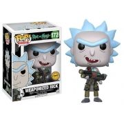 Pop Weaponized Rick (Chase): Rick and Morty #172 - Funko