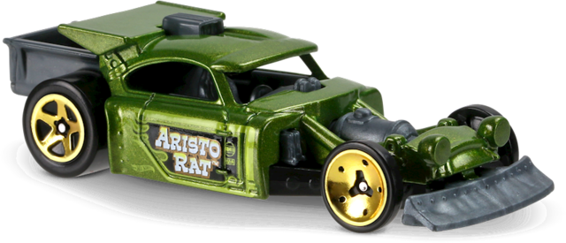 Aristo Rat Verde - Hot Wheels
