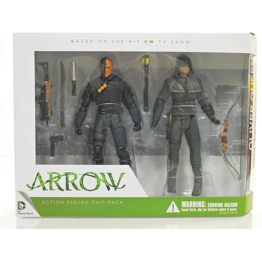 Arrow TV Series: Oliver Queen e Deathstroke 2 Pack - DC Collectibles