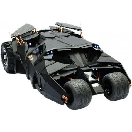 Batmobile (Batmóvel): Batman The Dark Knight Tumbler Escala 1/6 - Hot Toys