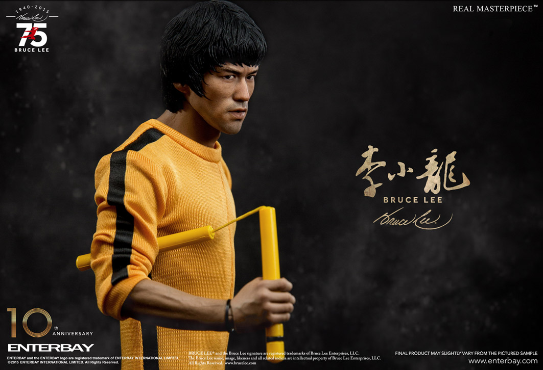 Bruce Lee 75th Anniversary Escala 1/6 - Enterbay