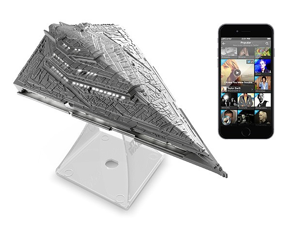 Caixa de Som Imperial Star Destroyer BT Speaker: Star Wars: O Despertar da Força