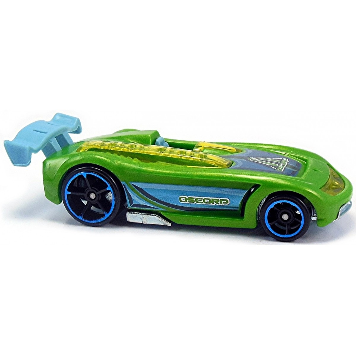 Carrinho Hot Wheels: Battle Spec: Ultimate Spider-Man Sinister 6 Verde